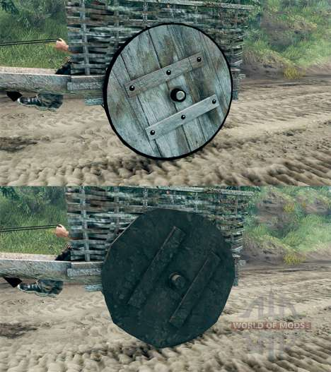 Le panier v1.1 pour Spin Tires
