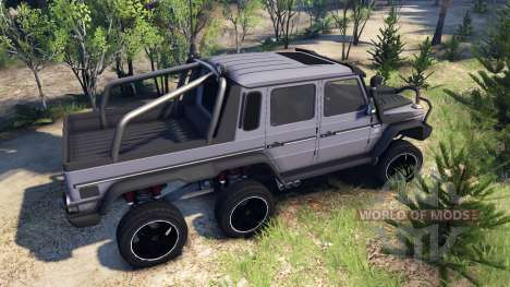 Mercedes-Benz G65 AMG 6x6 Ultimate für Spin Tires