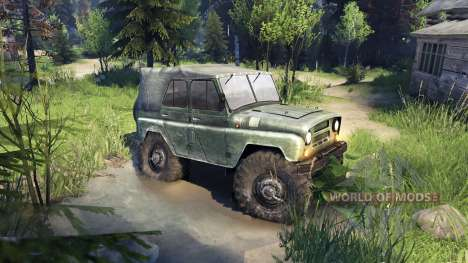 УАЗ-469 Monster-Truck für Spin Tires