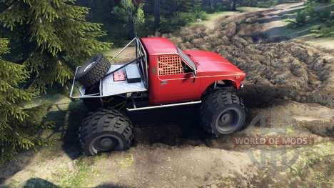 Toyota Hilux Truggy v0.9.1 für Spin Tires