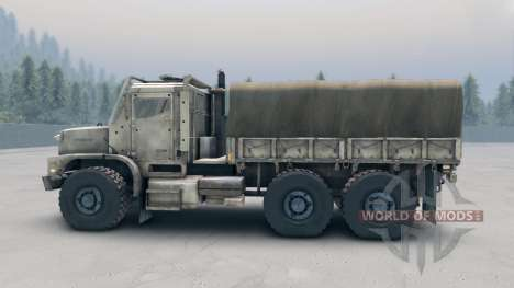 Oshkosh MTVR MK23 wheels v1 pour Spin Tires