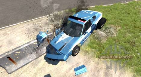 Civetta Bolide Police Interceptor pour BeamNG Drive