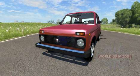 Des VASES Niva 2131 pour BeamNG Drive