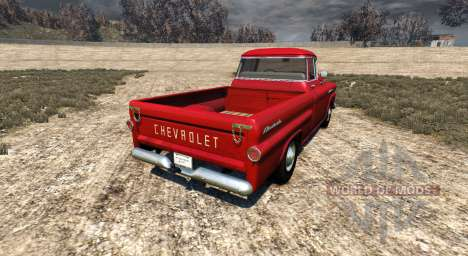 Chevrolet Apache 1958 Fleetside pour BeamNG Drive
