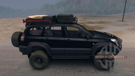 Toyota Land Cruiser Prado Extreme v.3.0 pour Spin Tires