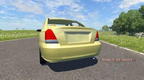 Hyundai Elantra für BeamNG Drive