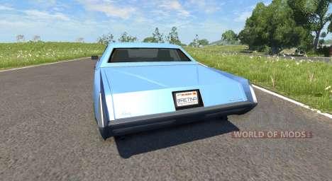 Manana (Grand Theft Auto V) pour BeamNG Drive
