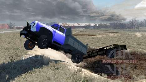 ZIL-130-trailer für BeamNG Drive