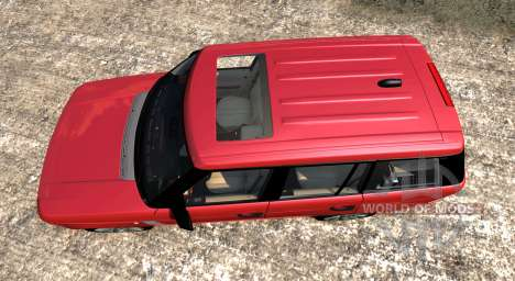Range Rover Supercharged 2008 [Red] pour BeamNG Drive