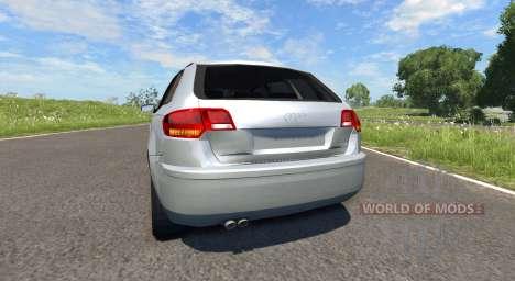 Audi A3 für BeamNG Drive