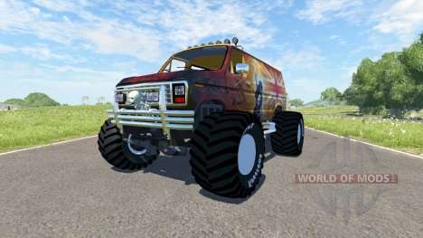 Ford E-250 Monster für BeamNG Drive