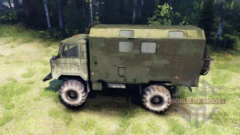 GAZ-66 pour Spin Tires