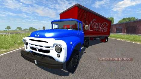 ZIL-V semi Coca-Cola pour BeamNG Drive