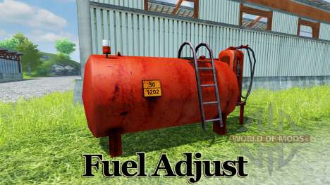 Fuel Adjust pour Farming Simulator 2013