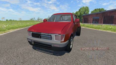 Toyota Hilux für BeamNG Drive