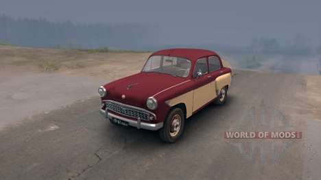 Moskvich 407 pour Spin Tires