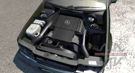 Mercedes-Benz E500 W124 für BeamNG Drive