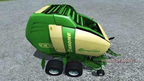 Krone Comprima V180 pour Farming Simulator 2013