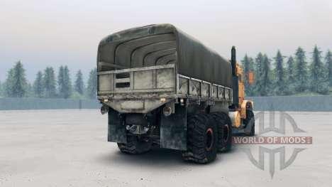 Oshkosh MTVR MK23 wheels v2 für Spin Tires