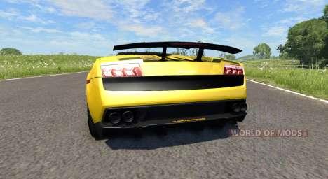 Lamborghini Gallardo LP570-4 Spyder v1.1 pour BeamNG Drive