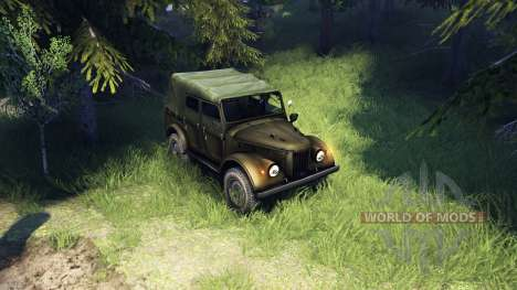 GAZ-69A pour Spin Tires
