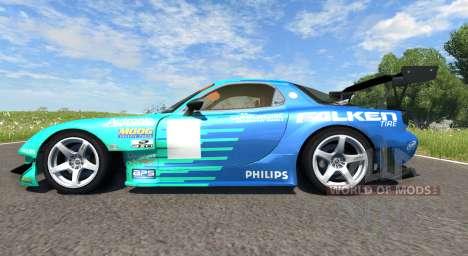 Mazda RX-7 Drift Falken für BeamNG Drive