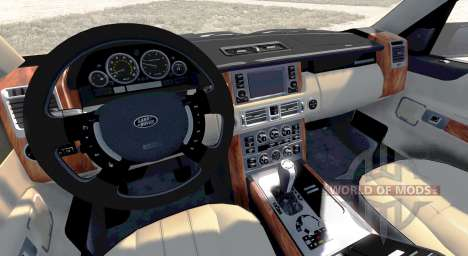 Range Rover Supercharged 2008 [White] pour BeamNG Drive