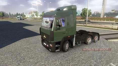 MAZ-5440 A5 pour Euro Truck Simulator 2