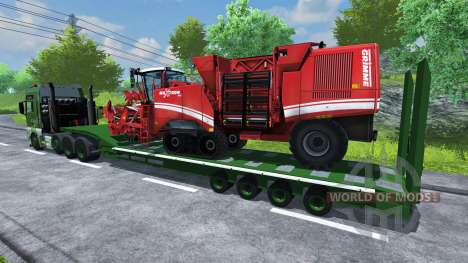 Semi-remorque MAN TGA pour Farming Simulator 2013