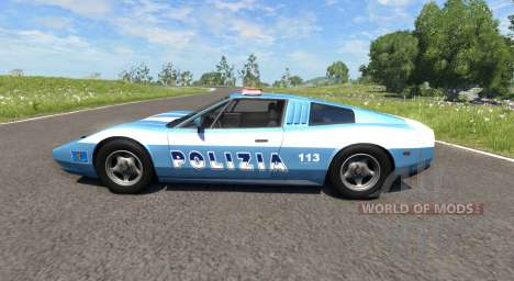 Civetta Bolide Police Interceptor pour BeamNG Drive