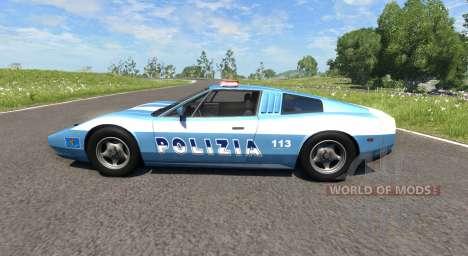 Civetta Bolide Police Interceptor für BeamNG Drive