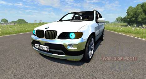 BMW X5M pour BeamNG Drive