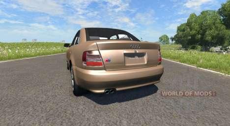 Audi S4 2000 [Pantone 876 C] pour BeamNG Drive