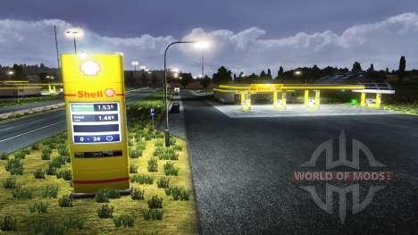Européennes des stations d'essence pour Euro Truck Simulator 2