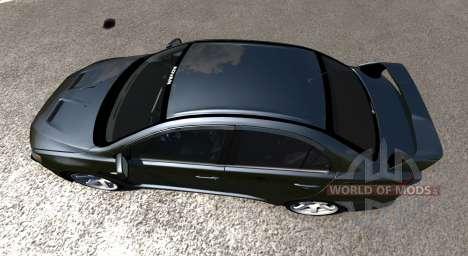 Mitsubishi Lancer Evolution X für BeamNG Drive