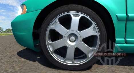 Audi S4 2000 [Pantone Green C] für BeamNG Drive