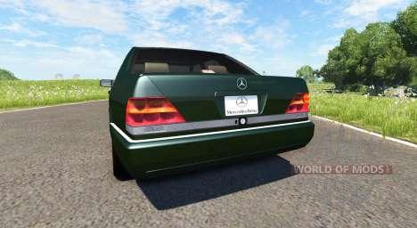 Mercedes-Benz S600 AMG für BeamNG Drive