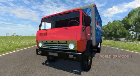 KamAZ-5325 Pepsi für BeamNG Drive