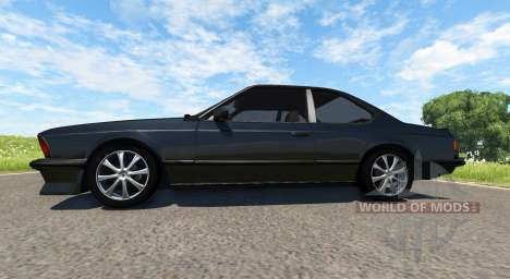 BMW E24 M6 v1.1 pour BeamNG Drive