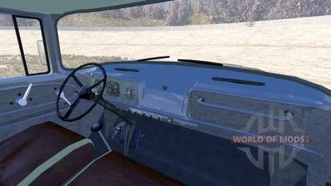 ZIL-V avec semi-remorque pour BeamNG Drive