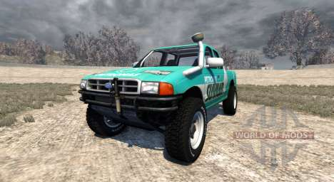 Ford Ranger für BeamNG Drive