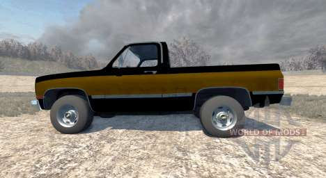 Chevrolet Silverado 1500 1986 für BeamNG Drive