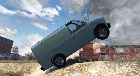 Gavril H-Series Mini Van pour BeamNG Drive