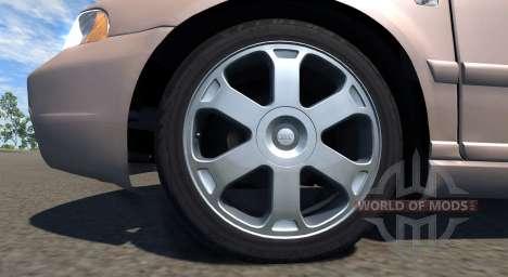 Audi S4 2000 [Pantone 7513 C] pour BeamNG Drive