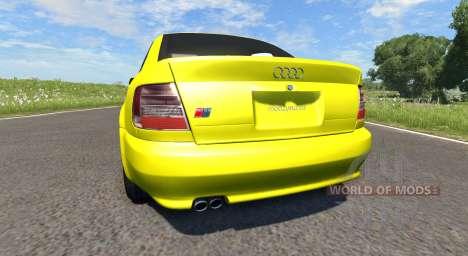 Audi S4 2000 [Pantone Yellow 012 C] für BeamNG Drive