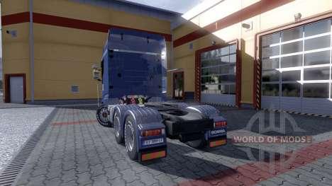 Scania R730 Evo Topline pour Euro Truck Simulator 2