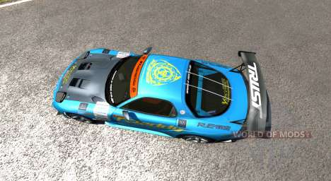 Mazda RX-7 Drift GReddy für BeamNG Drive