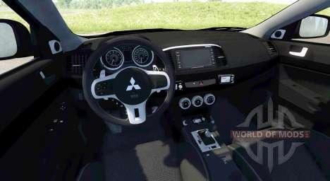 Mitsubishi Lancer Evolution X pour BeamNG Drive