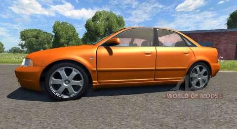Audi S4 2000 [Pantone Orange 021 C] für BeamNG Drive