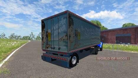 ZIL-V mit semi-la-Nouvelle Glatt für BeamNG Drive